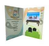 4.3inch LCD Bildschirm-Bekanntmachenvideobroschüre-Karte