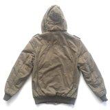 人のための熱い販売の方法100%Cottonシェルファブリック冬のコート