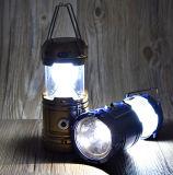 2018 Hot Sale rechargeable Lampe LED solaire tente&LED solaire lanterne de Camping avec chargeur