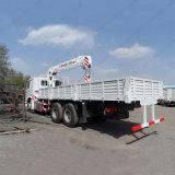 Il camion 6*4 25tons di HOWO ha montato la gru montata camion della gru