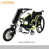 Goedkope 36V 250W Bevestigbare Rolstoel Elektrische Handcycle voor Gehandicapten