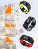 Bracelete esperto do esporte novo do monitor da frequência cardíaca do projeto IP68 GPS