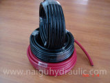 Faça duplo trançado Têxteis Flexbile Mangueira de ar/tubo de borracha do tubo/