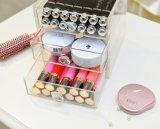 Bon organisateur de vente de rouge à lievres de tiroir de l'acrylique 4 de vente directe d'usine