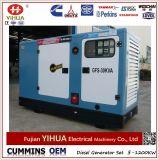 Weifang groupe électrogène diesel pouvoir silencieux électrique simple/triphasé de Ricardo (10-250kw)