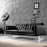 O sofá moderno do couro do projeto da mobília ajustou-se (L720-18-1)