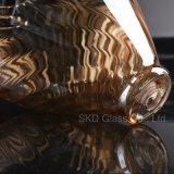 Het amber Blazende Glas van de Verlichting Bijkomende I053