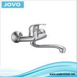 Mélangeur fixé au mur Jv70703 de cuisine de traitement simple sanitaire de robinet