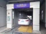Máquina automática de la colada de coche con los cepillos de la rueda