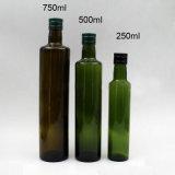 commercio all'ingrosso della bottiglia di vetro dell'olio di oliva di uso dell'olio da cucina di immaginazione di 250ml 750ml 500ml 1L