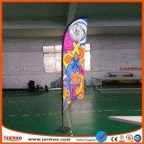 Drapeau de plumes de vent de promotion pour l'extérieur
