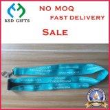 安いカスタム熱伝達の印刷された締縄Keychains