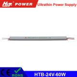 alimentazione elettrica ultrasottile di 24V 2.5A LED con le Htb-Serie di RoHS del Ce