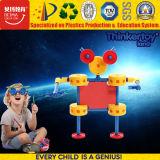 Brinquedo plástico da inteligência da instrução para brinquedos magnéticos do bloco dos miúdos