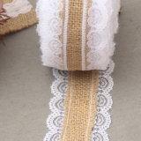 Arpillera Ribbon2.5cm Partis piezas centrales de la boda la decoración del Partido de eventos