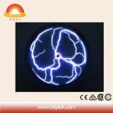Symbole de la foudre plasma crystal ronde Globe lumière
