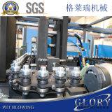 Semi-Auto cavidades 4 máquina de moldeo por soplado de botellas PET