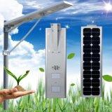 5W-120W для использования вне помещений LED встроенный солнечной улице лампа с литиевой батареей