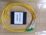 2*8 아BS 상자 섬유 Sc/APC 연결관을%s 가진 광학적인 쪼개는 도구 PLC