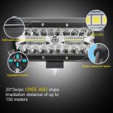 Mini-bar 7pouces lumineux à LED étanche 72W 12V 24V Offroad Barre d'éclairage à LED