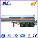 2/3 do eixo do depósito de gasolina do petróleo do transporte do tanque de reboque Diesel de alumínio Semi