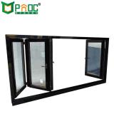 高品質によって二重ガラスをはめられるガラスアルミニウム折るWindows