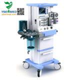 Ysav700d стационара Ysenmed мобильного оборудования для анестезии с помощью монитора наркозного аппарата ИВЛ