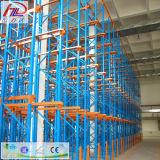 Mecanismo impulsor de acero del almacén de almacenaje en el tormento