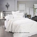 Роскошный комплект постельных принадлежностей Duvet крышки листа постельных принадлежностей вышивки