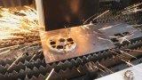 Prix de machine de découpage de laser de fibre avec la tête de découpage allemande de laser de professionnel
