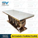 Speisen des Stuhl-Möbel-Fabrik-Glasspeisetisches für 6 Seater
