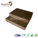 Ninguna madera plástica compuesta del Decking impermeable de metales pesados del elemento