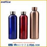 Nuevo diseño de doble pared de acero inoxidable sellado al vacío de proveedor de China la botella de agua