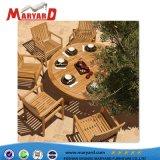 Comercial de alta calidad para interior/exterior silla de comedor de madera de teca tabla