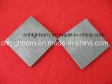 Plaque en céramique de carbure de silicium pour l'imperméabilisation de remboursement in fine