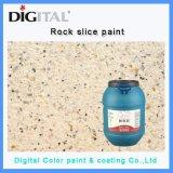 Excellente résistance d'épuration de pierre Revêtement de peinture de texture