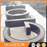 Lettres fabriquées par DEL et logos de côté d'acier inoxydable