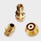 Les pièces avec CNC aluminium // le matériel en acier inoxydable en laiton