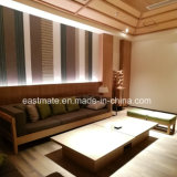 Sofà dell'hotel della mobilia del salone impostato con il sofà di corrispondenza della camera da letto dell'hotel delle Tabelle