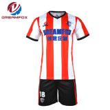 A impressão digital se sublima Personalizado Sportswear uniforme futebol Mens Soccer camisolas