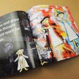 Impression lourde de livre de peinture d'impression de livre de couverture d'encre