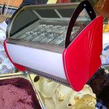 Vetrina del bastone del lecca lecca di ghiaccio/vetrina refrigerata del gelato del congelatore/visualizzazione di Gelato