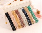 6개의 색깔 봄 Handmade 뜨개질을 하는 Barrette를 가진 수정같은 머리 핀