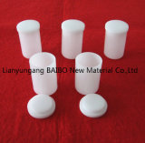 Smeltkroezen van het Kwarts van Baibo de Ondoorzichtige Smeltende Cilindrische met Dekking
