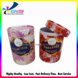 Comercio al por mayor regalo de alta calidad caja redonda de papel