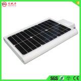 Nuovo indicatore luminoso di via solare di disegno 12W LED con la batteria di temperatura elevata 12V14ah