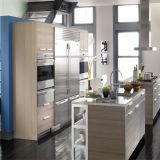 木製の穀物様式MFCのカスタム食器棚