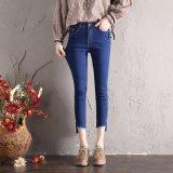 De nieuwe Jeans van de Stijl met Speciaal Been die voor Dame (HDLJ0027-17) openen