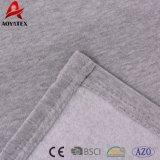 Coperta solida di inverno della manovella del cotone 100% di promozione o del cotone del poliestere 80% di 20%