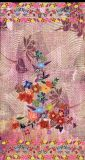 カスタムデジタルによって印刷される絹によって印刷されるスカーフ(1701-005)
